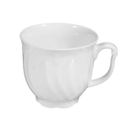 Seltmann Kaffeetasse, Porzellan, Weiß