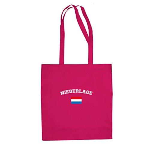 Planet Nerd Oranje Niederlage - Stofftasche/Beutel, Farbe: pink