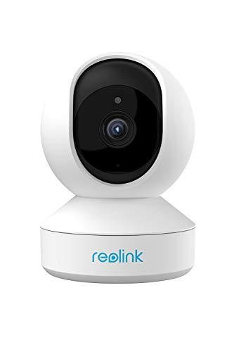 Reolink ネットワークカメラ WiFiカメラ 300万画素 パンチルト機能 ベビーモニター ペット 見守りカメラ スマホ対応 ワイヤレス防犯カメラ 屋内 双方向音声動作検知 12m暗視撮影 録画可能 Googleアシスタント アレクサ対応 E1