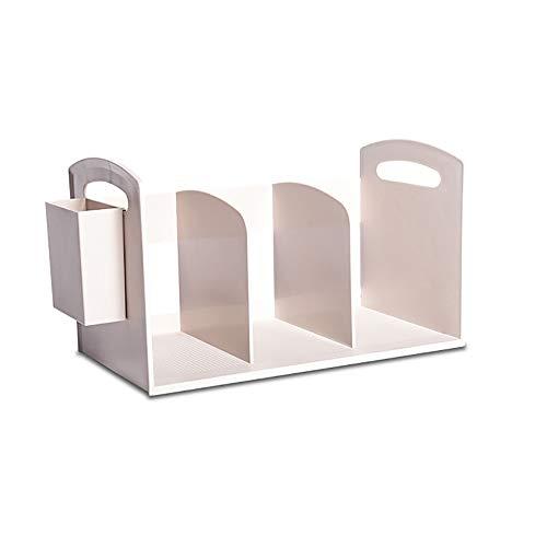 ZSLLO boekenkast, eenvoudige combinatie, klein, boekenkast, bureau, ABS-kast, bureau-organizer