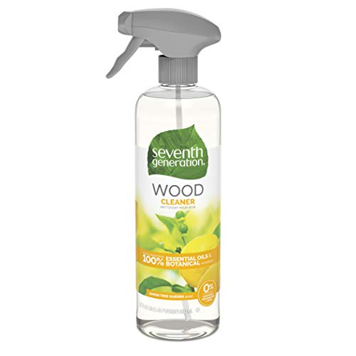 Seventh Generation Wood Cleaner, Lemon Garden scent, 23 Fluid Ounce