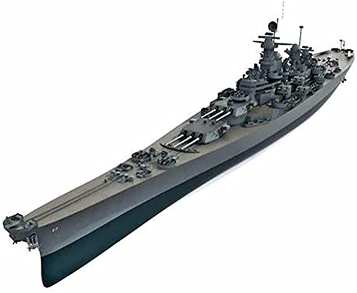 N-T Battleship 3D Puzzles Plastic Model Kits 1/200 Scale USS Missouri BB-63 Battleship Model Adult Toys And Gift 15 2 X 1 9Inch