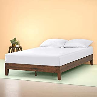 Zinus OLB-PWPBBE-12Q 12 Inch Deluxe Wood Platform Bed / No Boxspring Needed / Wood Slat Support / Antique Espresso Finish, Queen (B06WVPD4CS) | Amazon price tracker / tracking, Amazon price history charts, Amazon price watches, Amazon price drop alerts