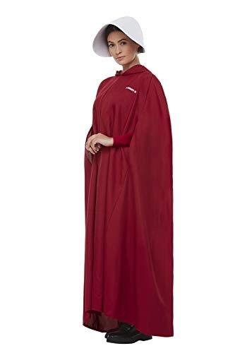 Smiffys 52238 Officieel gelicenseerde Handmaid Verhaal Kostuum, Vrouwen, Rood, Een Maat