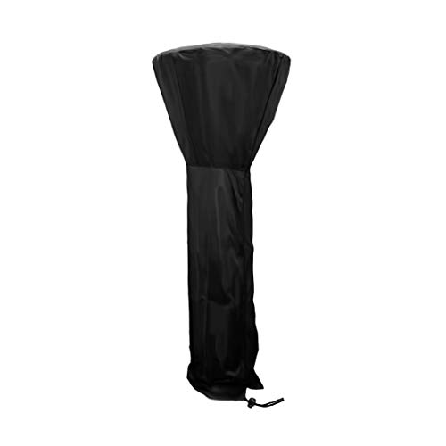 MAGFYLY Patio Heater Protection Covers,Waterproof with Zipper Black Weather Proof Cover Waterproof Outdoor Cover-210D (Size : 88.933.418.8in)