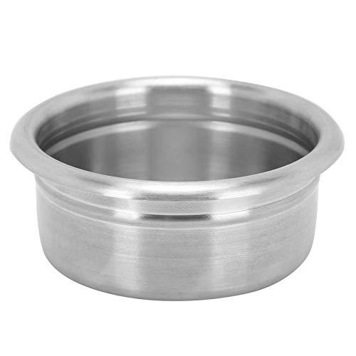 【ó 】Filtro de café, colador de café no tóxico no presurizado de 58 mm, ultrafino para el hogar plateado