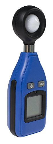 as - Schwabe Lux-Meter, Helligkeits-Messgerät, digitaler Lichtmesser und Beleuchtungsmessgerät mit Helligkeits-Sensor 24104