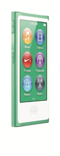 Apple iPod Nano 16GB Verde (7ª Generación) MODELO NUEVO (Reacondicionado)