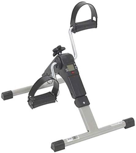 Ejercicio de la escalera de fitness, Ejercitador de pedales, máquina de pedal de bicicleta elíptica para uso en el hogar u oficina, Máquina de ejercicios para entrenamiento de cuerpo completo, susurro