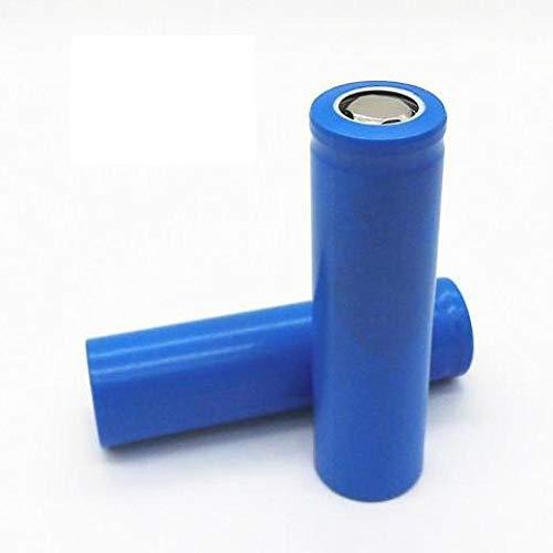 2PCS Flat Top 18650 1500mAh 3.7 V Batería Recargable Baterías de Linterna