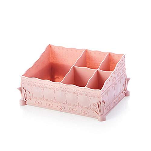 LiKin Estuche de cosméticos, caja de almacenamiento de plástico, multiusos, caja de...