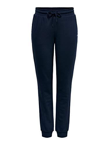 Only Onpelina Pantalones Deportivos, Azul (Navy Blazer Navy Blazer), 42 (Talla del Fabricante: Large) para Mujer