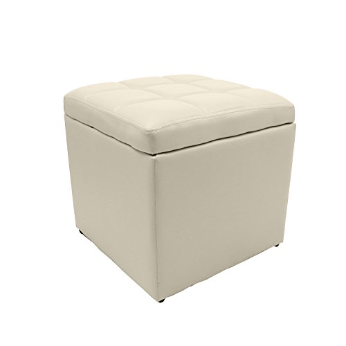 Excellent Magshion Unfold Faux Leather Storage Ottoman Bench Cjindustries Chair Design For Home Cjindustriesco