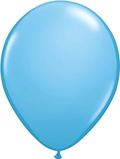 ゴム風船 Qualatexバルーン(ラウンド無地)ペールブルー 16インチ(直径42cm) 50個入り/袋