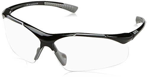 uvex Unisex– Erwachsene, sportstyle 223 Sportbrille, black grey, one size