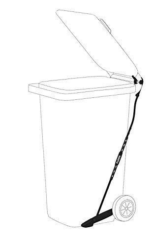 FLIDOX Verstellbares Pedal für Mülltonnen für eine hygienische und handfreie Abfallentsorgung