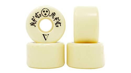 NFG MFG Vee Shape 54mm 52D (103a) Skateboard Wheels (Set of 4)