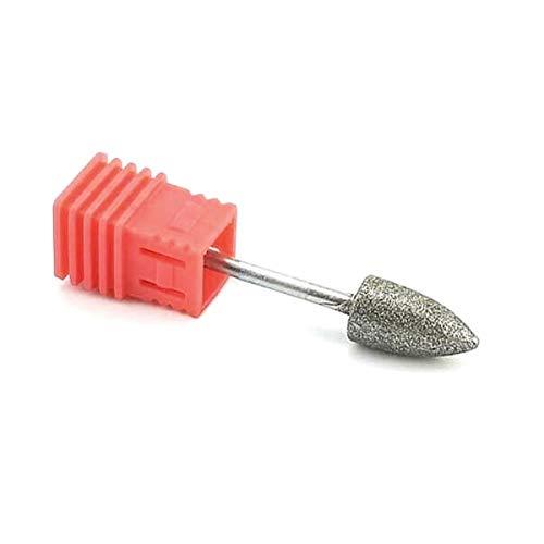Natury Nails Fresa de Diamante para Torno de uñas. Broca para Pedicuras Callosidades y Asperezas. (Grano Fino)