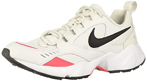 Nike Herren Air Heights Traillaufschuhe, Mehrfarbig (Platinum Tint/Black/Red Orbit/White 1), 44.5 EU