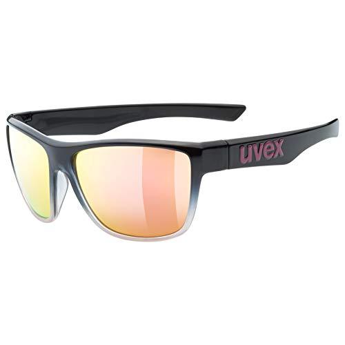 uvex Unisex– Erwachsene, lgl 41 Sonnenbrille, black rose, one size