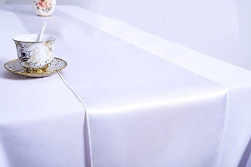 JUSTDOLIFE 10 PCS Table Runner Table À Manger Nappe De Mariage Décor Table Runner pour Banquet De Fête