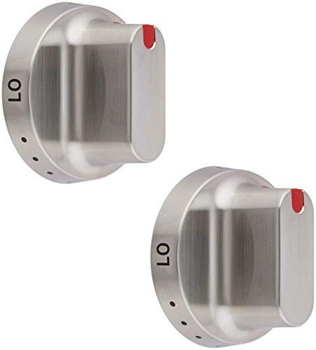 Lifetime Appliance 2 x DG64-00347A Dial Knob Compatible with Samsung Range Oven - DG64-00472A