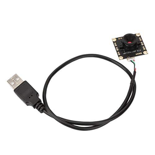 Adanse Modulo Telecamera USB Cmos 1.3Mp Obiettivo Un 50 Gradi Modulo Telecamera IP Ip Plug e Play per Sistemi Windows e Linux