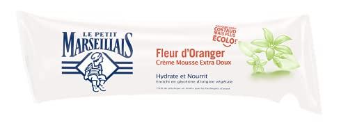 Le Petit Marseillais Savon Crème Fleur d'Oranger, Recharge Berlingot, 250ml