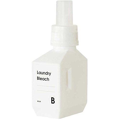b2cランドリー 単品-ランドリーボトル Sサイズ 500ml(ホワイト)|サラサデザイン ランドリーボトル 洗剤ボトル 詰め替えボトル 洗剤