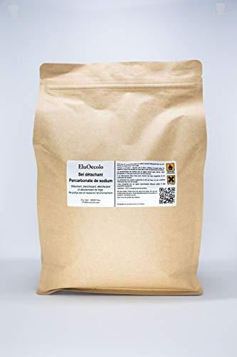 EluOecolo - Détachant & blanchissant au Percarbonate 3kg DOYPACK zippé - Oxygène actif <12% - avec doseur