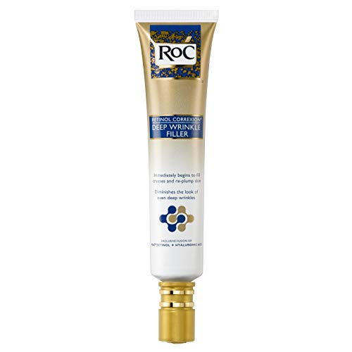 RoC Retinol Correxion Deep Wrinkle Facial Filler with Hyaluronic Acid & Retinol, 1 Ounce