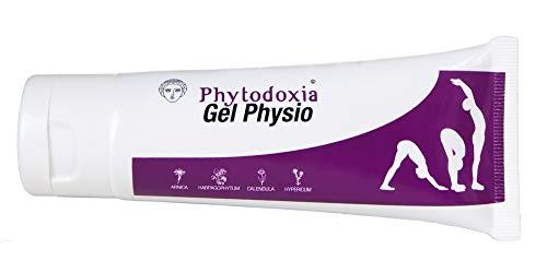 Gel Physio Cream 75 ml | Dolor Muscular y de Articulaciones Deporte | Crema Antiinflamatoria Dolor de Espalda | Crema Masaje Fisioterapia | Harpagofito Arnica Calendula Hiperico Menta