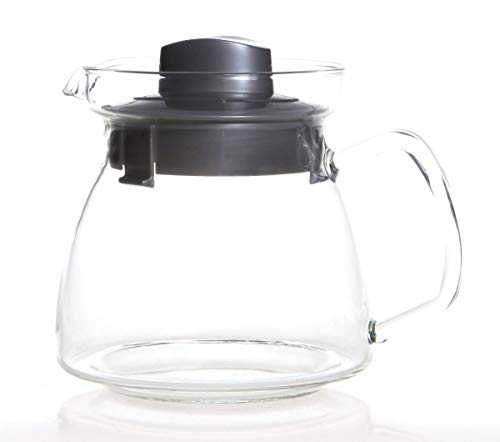 Mikrowellen Teekanne 1,25L mit Glasgriff