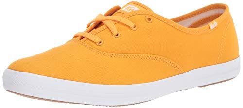 Keds Women's Champion Sneaker, Cadmium Yellow, 9