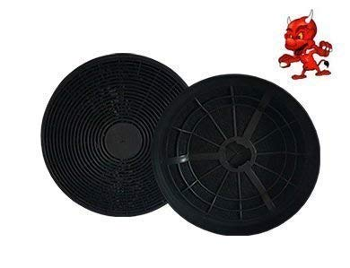 1 SET 2 Aktivkohlefilter Fettfilter Kohlefilter Filter für Dunstabzugshaube Abzugshaube Respekta CH 22078 IX, CH 22068 IX, CH22078IX, CH22068IX