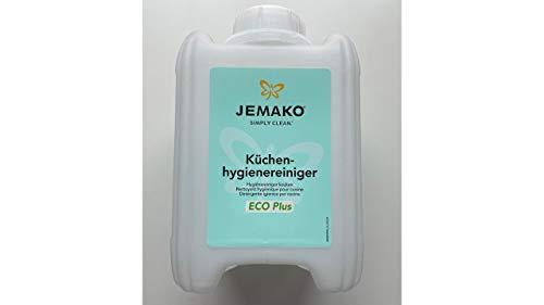 Küchenhygienereiniger Jemako 2 Liter Kanister Fettlöser Küchenreiniger Reinigungs-Profi Hochwirksamer Spezialreiniger
