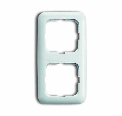 BUSCH-JAEGER Reflex SI Komplett-Sets – Alpinweiß (2x Steckdose, 1x Rahmen 2fach) - 4