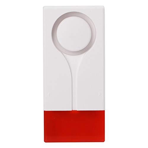 Alarma de control remoto Vibración Alarma de voz magnética MR-18R Anillo de ahorro de energía de 105 dB con sonido y luz