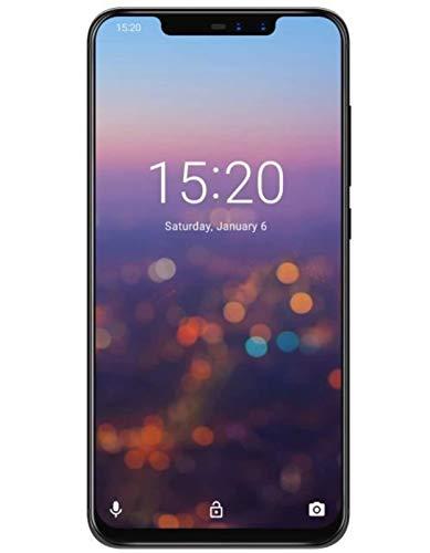 UMIDIGI Z2 - 6.2 pulgadas de muesca de pantalla completa (relación 19: 9) súper delgado Smarphone Android 8.1, Octa Core 2.0GHz 6GB + 64GB, cuatro cámaras - CREPUSCULO