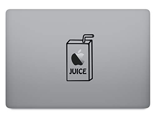 Apple Juice Apfel Saft Aufkleber Laptop Sticker Folie geeignet für alle neumodischen & Alten Apple MacBook Modelle (11 Zoll, 12 Zoll, 13 Zoll, 15 Zoll, 16 Zoll, 17 Zoll)