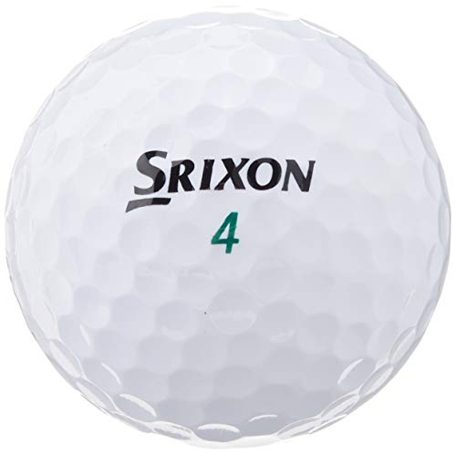 Srixon Men's Soft Feel Golf Ball (1-Dozen, Soft White)