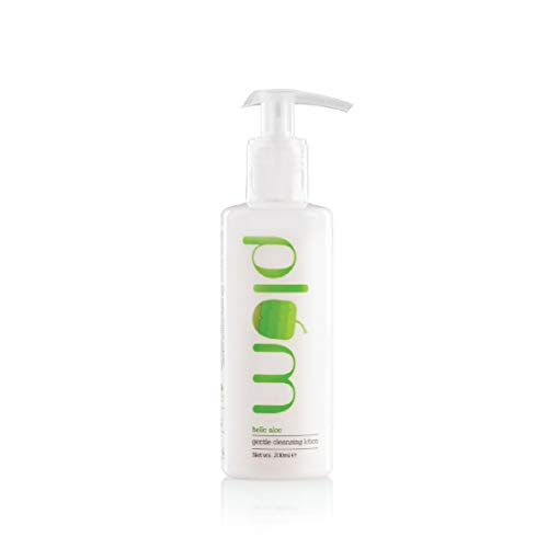 Plum Hello Aloe Gentle Cleansing Lotion   For Dry, Very Dry Skin   Hydrates the Skin   Argan Oil   100% Vegan   Paraben Free   200ml
