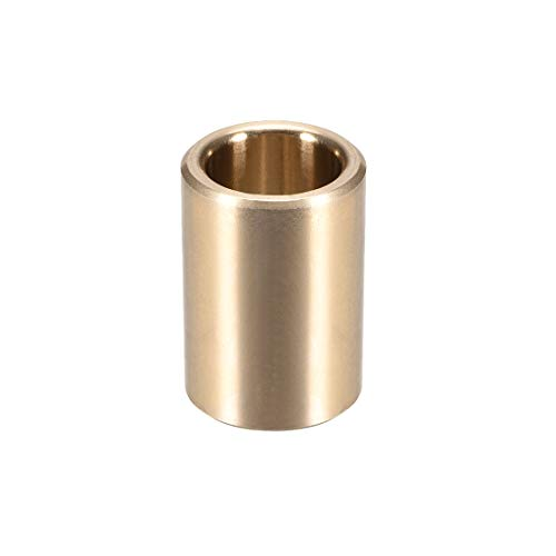 uxcell Bearing Sleeve 1/2 inches Bore x 11/16 inches OD x 1 inches Length Self-Lubricating Sintered Bronze Bushings