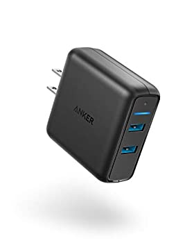 Anker Quick Charge 3.0 39W Dual USB Wall Charger PowerPort Speed 2 for Galaxy S10/S9/S8/Edge/Plus Note 8/7 and PowerIQ for iPhone Xs/XS Max/XR/X/8/Plus iPad Pro/Air 2/Mini LG Nexus HTC and More