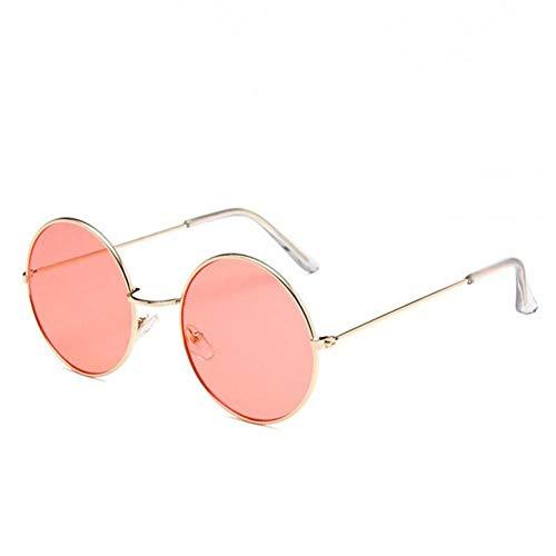 Taiyangcheng ronde zonnebril voor dames en heren, steampunk shades multicolor gradient spiegellens bril designer vinta