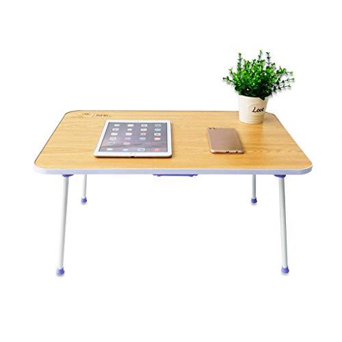 Laptop-tafelbed, groen blad, ultralicht, leerkamer, voor kantoor, bank, tablet, bureau, speeltafel, opvouwbaar.