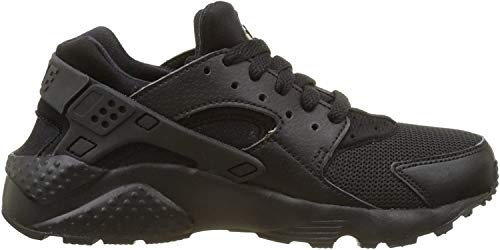 Nike Jungen Huarache Run (GS) Low-Top, Schwarz (016 Black/Black-Black), 40 EU