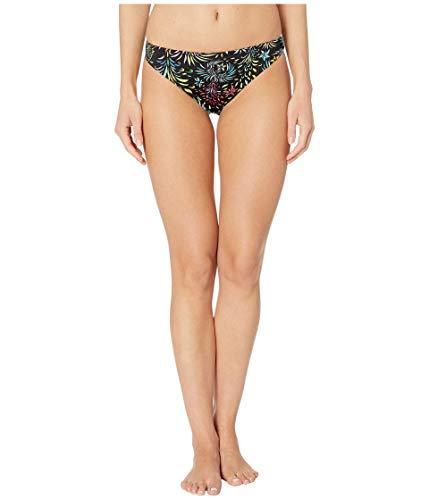 VILEBREQUIN Braguitas de Bikini de Corte asimétrico con Estampado Evening Birds para Mujer - Negro - XS