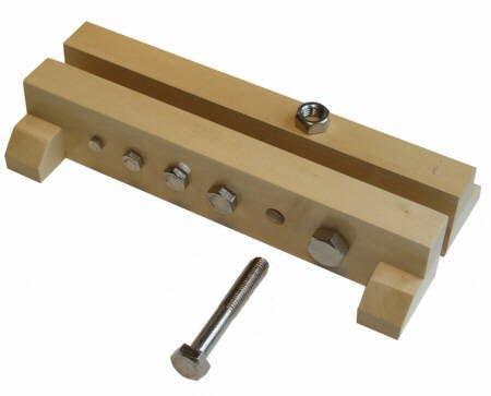 Schrauben-Leisten, Montessori-Material zur Förderung von Feinmotorik, Kraftdosierung, Koordination und Fingerspitzengefühl