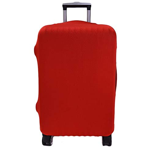 Travel Suitcase Cover Solid Multi-color Elastic Suitcase Cover Multi-Inch Trolley Case Dust Cover For Suitcase Protection